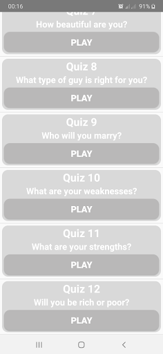 Which of Four Elements Are You?  screenshots 2