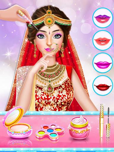 Indian Wedding Stylist - Makeup &  Dress up Games 0.17 screenshots 12