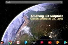 Earth & Moon in HD Gyro 3D Parallax Live Wallpaperのおすすめ画像2
