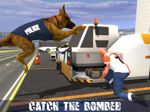Police Dog Airport Crime Chase : Dog Games android2mod screenshots 2