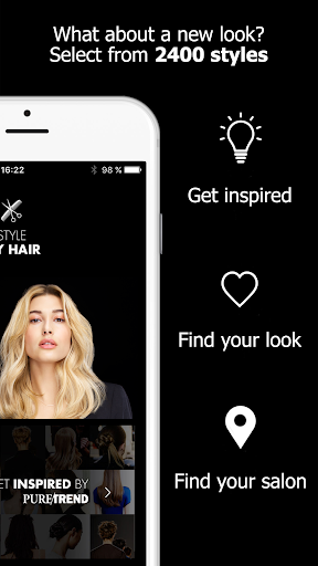 Style My Hair: Discover Your Next Look modavailable screenshots 10