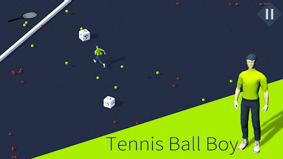 Tennis Ball Boy - tennis game Screenshot