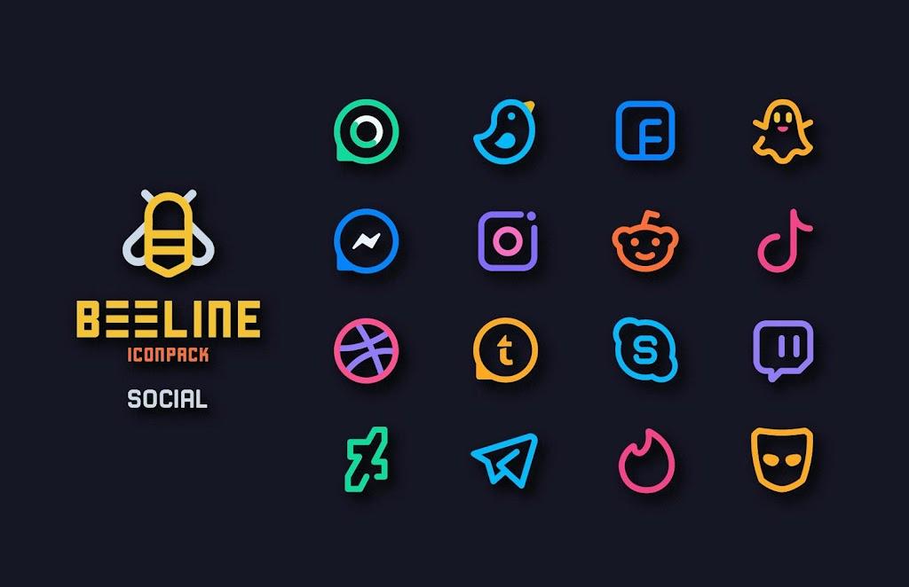 BeeLine Icon Pack  poster 2