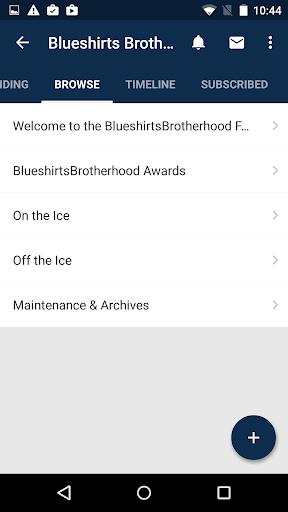 blueshirts brotherhood screenshot 1