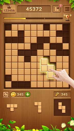 Wood Block Puzzle - Free Classic Block Puzzle Game 2.1.0 screenshots 3