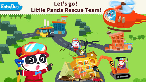 Little Panda's Earthquake Rescue  Screenshots 7