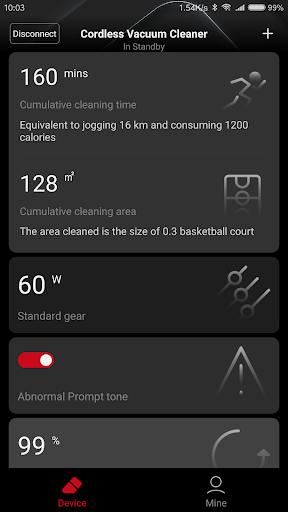 roidmi cleaner 2.0.1 screenshots 2
