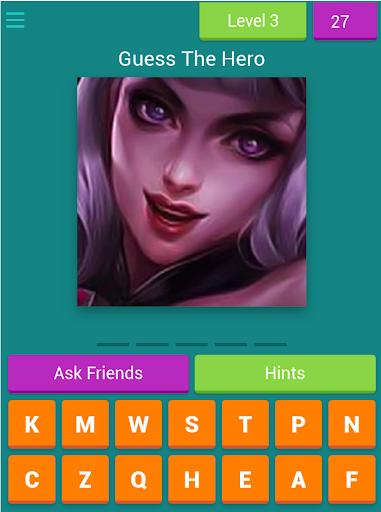 Guess The Mobi Legend Hero 8.4.1z Screenshots 12