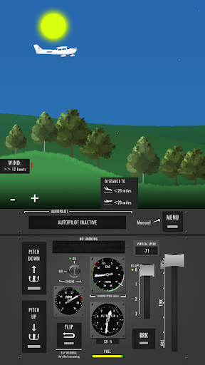 Flight Simulator 2d - realistic sandbox simulation  screenshots 10
