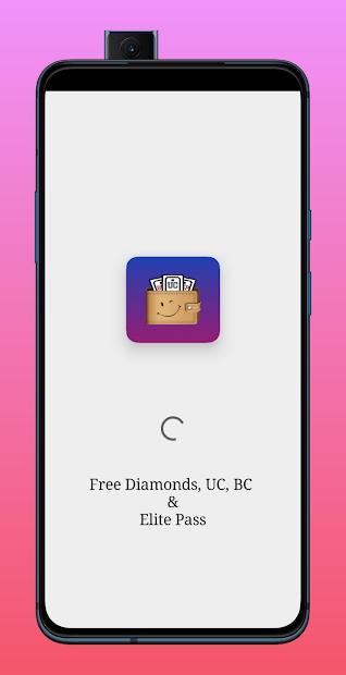 Win Free Diamonds, UC, BC, CP and Elite Pass