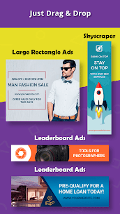 Banner Maker, Thumbnail Maker, Web Banner Ads (PRO) 22.0 Apk 2