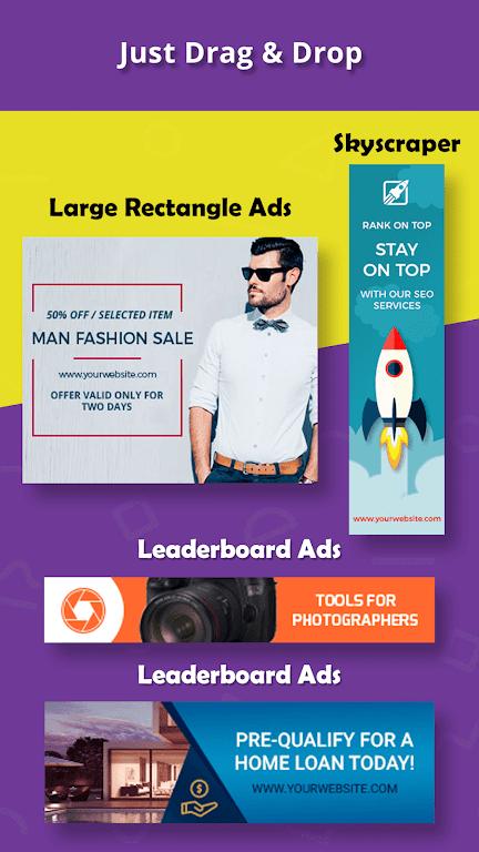 Banner Maker, Thumbnail Creator, Cover Photo Maker  poster 1