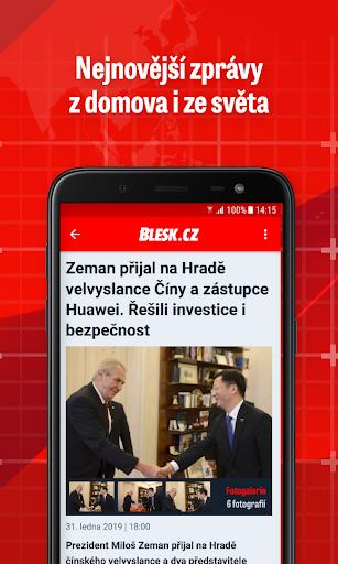 Blesk: zpru00e1vy, celebrity, sport 2.6.10 screenshots 3