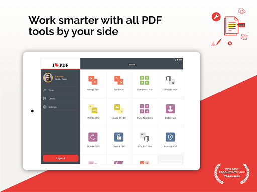 iLovePDF - PDF Editor & Reader 1.4.0 Screenshots 7