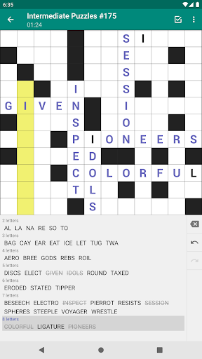 Fill-In Crosswords 3.07 screenshots 17