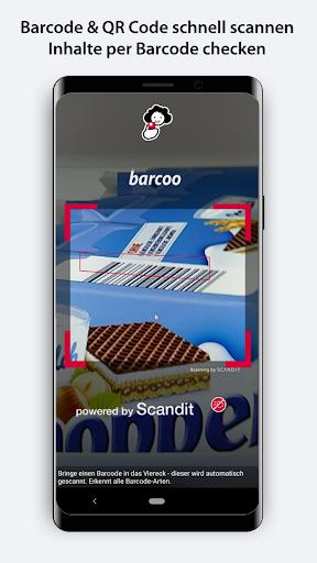 barcoo - QR Code & Barcode Scanner  screenshots 1