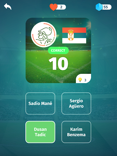 Football Quiz - Guess players, clubs, leagues 2.9 screenshots 8
