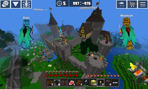 PlanetCraft: Block Craft Games apkpoly screenshots 3