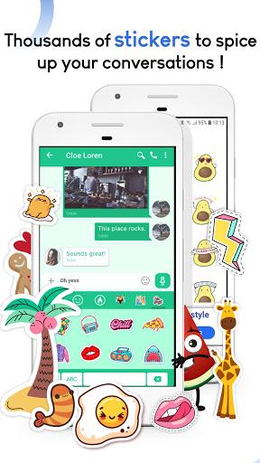 Mood Messenger - SMS & MMS android2mod screenshots 3