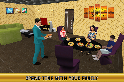 Virtual Billionaire Dad Simulator: Luxury Family android2mod screenshots 15