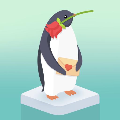の ハート ペンギン 島