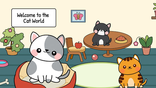 My Cat Town😸 - Free Pet Games for Girls & Boys 1.2 screenshots 1