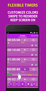 Multi Timer and Stopwatch Free 4.5 Mod + APK + Data UPDATED 3