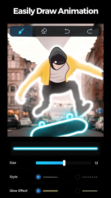 GoCut - Glowing Video Editor poster 0