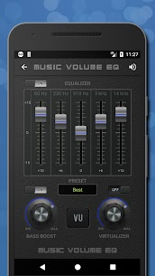 Music Volume EQ – Equalizer & Bass Booster MOD APK 2