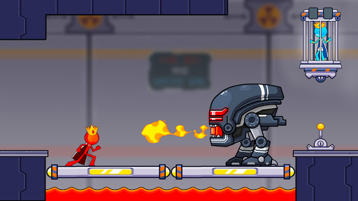 Fire and Water Stickman 2 : The Temple  screenshots 2