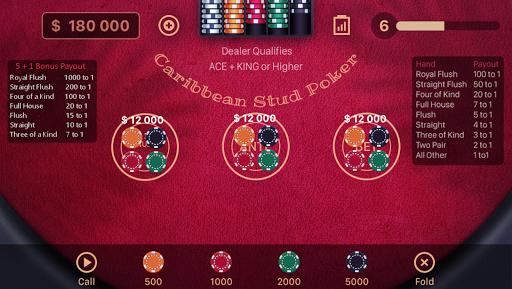 Caribbean Stud Poker 1.2.3 screenshots 9
