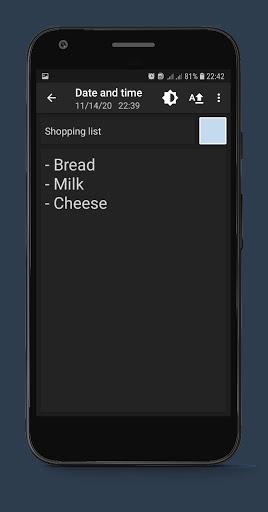 Notepad Notes android2mod screenshots 6