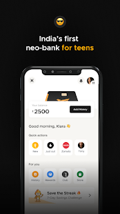 FamPay - Prepaid Card Payments for Teenagers  Screenshots 1