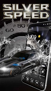 Incredible Silver Roadster Tachometer Theme 1.1.4 Latest MOD Updated 1
