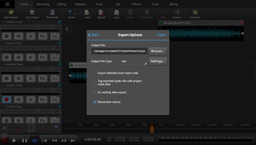 MixPad Multitrack Mixer Free 6.22 Screenshots 10