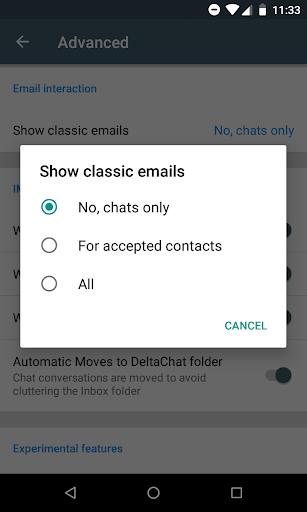 Delta Chat 1.14.4 Screenshots 8