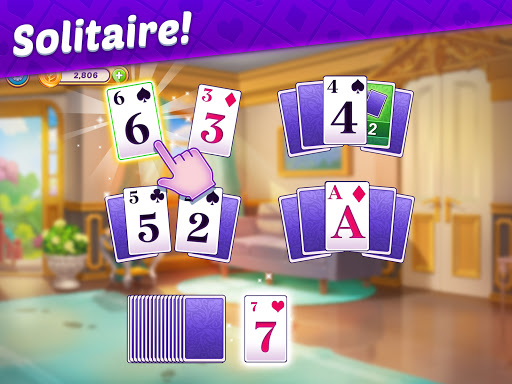 Solitaire Story - Ava's Manor: Tripeaks Card Game  screenshots 9