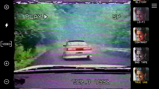 True VHS 🌌 – 80s Vintage camera & glitch editor 3