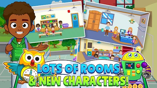 My Town : Play School for Kids Free For Android (MOD, Unlimited Money) 5