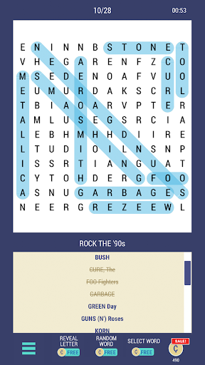 Daily POP Word Search 1.0.5 screenshots 5
