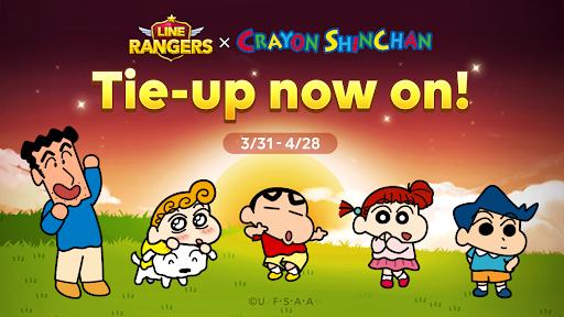 A LINE Rangers/Crayon Shinchan tower defense RPG!  screenshots 7