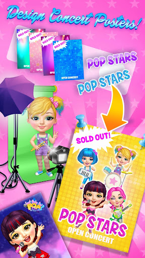 Sweet Baby Girl Pop Stars - Superstar Salon & Show 3.0.10004 screenshots 6