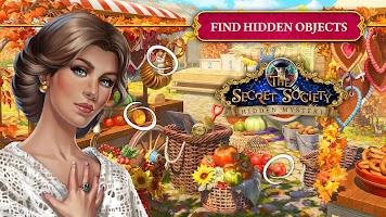 The Secret Society - Hidden Objects Mystery