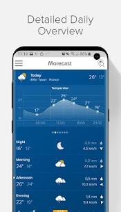 Weather Forecast, Radar & Widget – Morecast 3