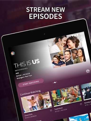 The NBC App - Stream Live TV and Episodes for Free 7.17.1 Screenshots 6
