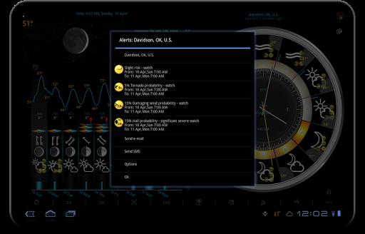 Weather app & widget with barometer: eWeather HDF  Screenshots 10