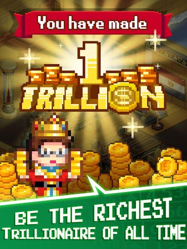 Tap Tap Trillionaire - Cash Clicker Adventure  screenshots 12