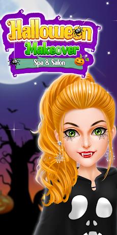ハロウィン変身 - スパ&サロンゲームのおすすめ画像5
