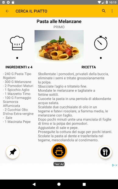 What Cooking Today? Italian Recipes screenshot 7