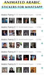 Animated Arabic Stickers for Whatsapp 2021 1.4 screenshots 1